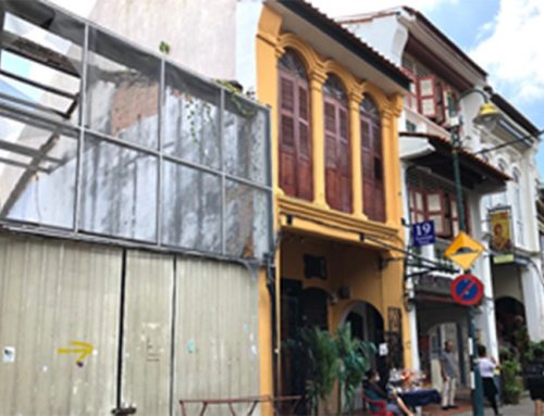 Reinvigorating and re-densification of a vertical urban shophouse