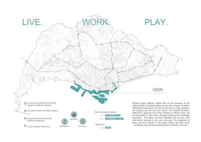 M1: Urban Mapping | Group 2 | The Greater Southern Waterfront