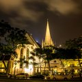 Night View of Saint Andrew's Cathedral (© Photography by Lim Shao Bin)