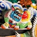 屋脊嵌瓷工艺 Qian-ci Ornamentation (© Photography by Lim Shao Bin)