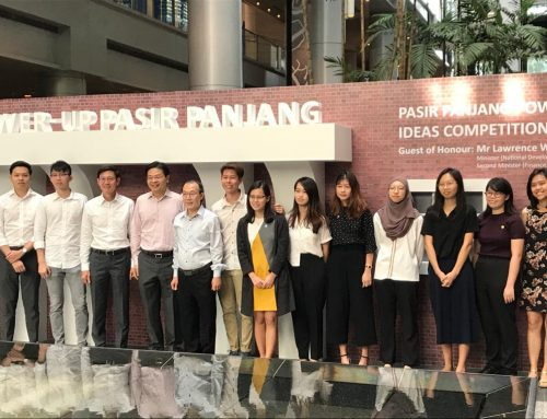 1st & 3rd Prize in URA's Power-Up Pasir Panjang Competition
