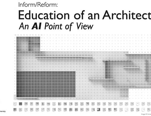 Education of an architect: An AI point of view