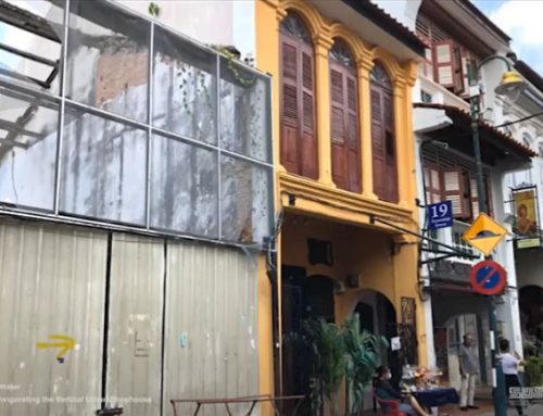 Restorative Architecture: Tanjong Pagar Railway Station and High Density Vertical Shophouse